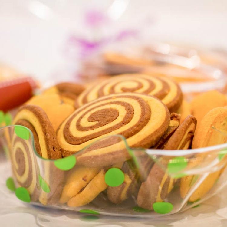Biscotti Bicolor :: I Dolci :: Panificio Fantuzzi