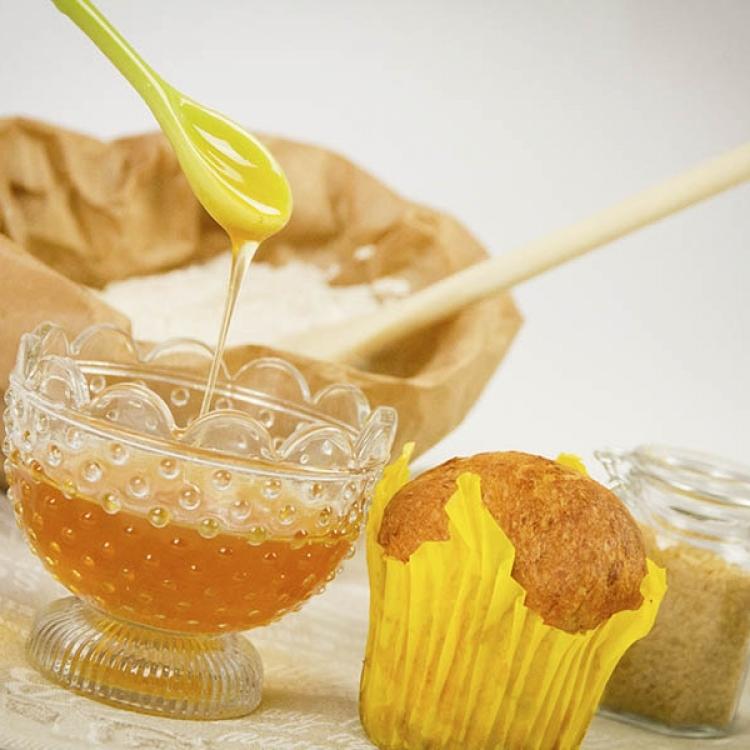I muffin miele e zucchero di canna :: I lievitati :: Panificio Fantuzzi