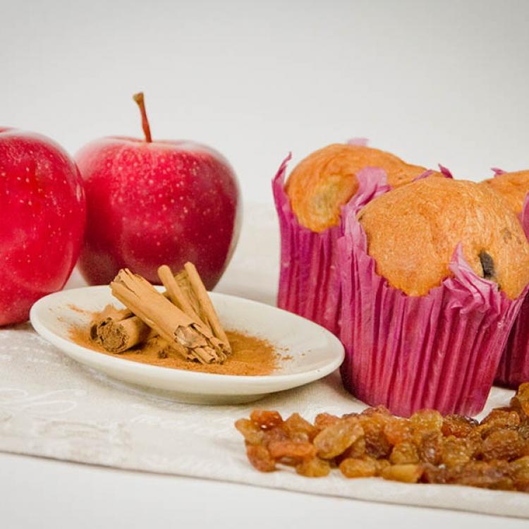 I muffin mela e cannella :: I lievitati :: Panificio Fantuzzi