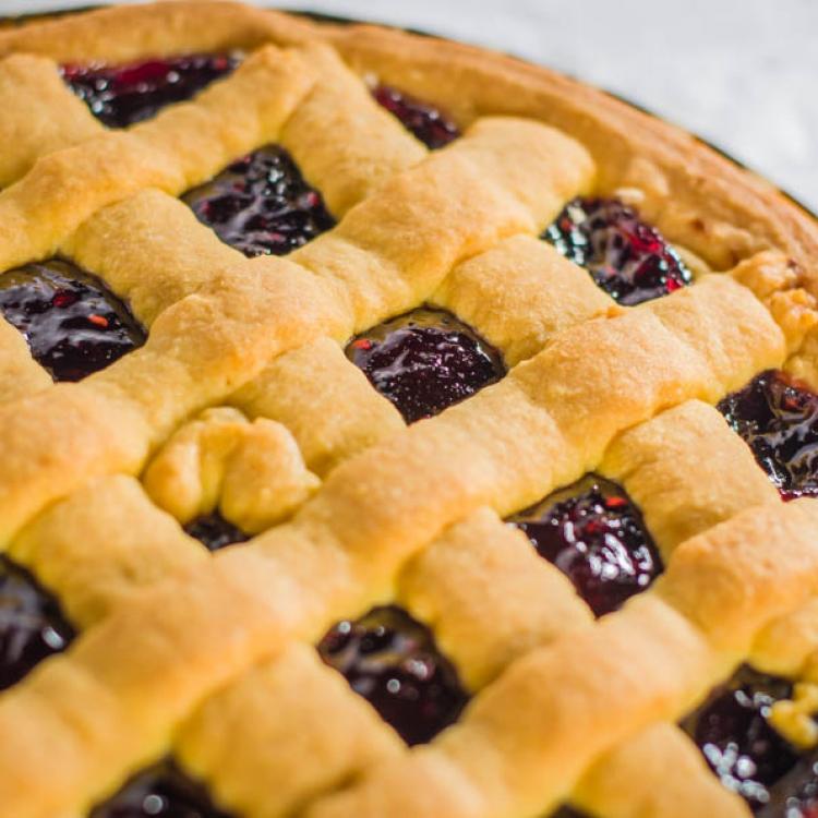 La crostata di confettura :: Le torte da forno :: Panificio Fantuzzi