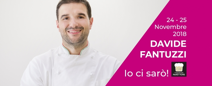 Davide Fantuzzi primo classificato al Bakery 3.0 come miglior panettone!